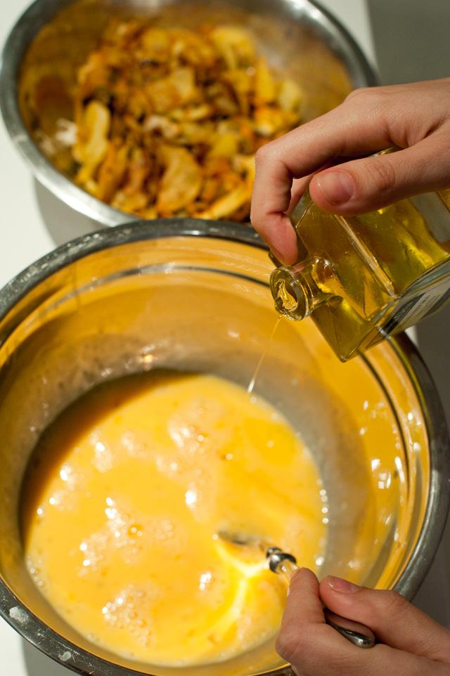 En los huevos batidos, pon un chorrito de aceite de trufa! Riquísimo