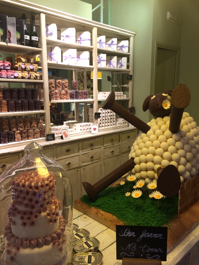 Me encantó esta mona de chocolate, a que es genial?