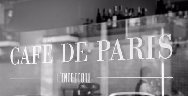 Café de parís Le entrecotte