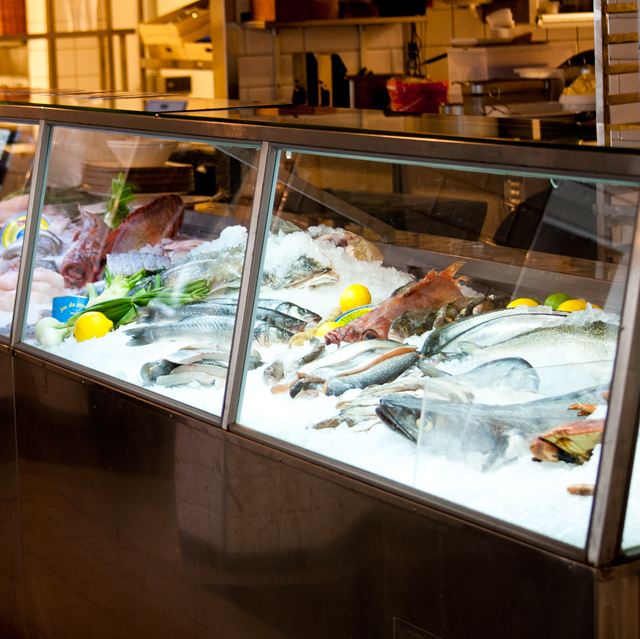Puedes escoger directamente el pescado que quieres tomar