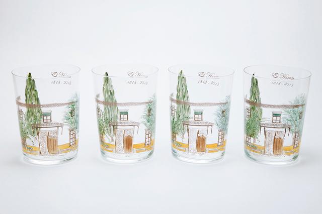 Vasos pintados a mano