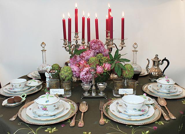 Una mesa más elegante para Navidad