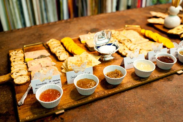Nuestra degustación de foie con distintas salsas
