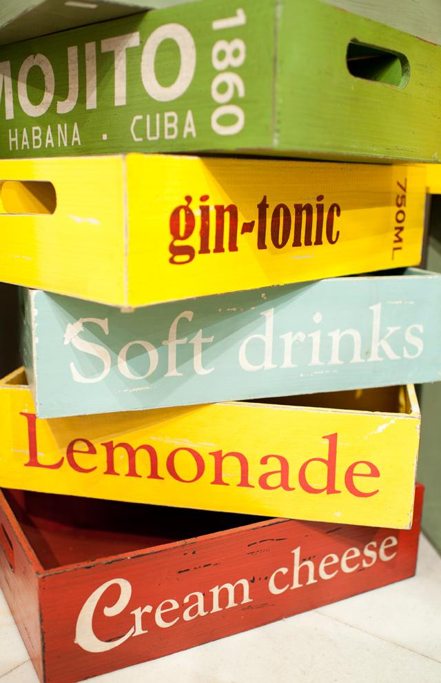 Divertidas bandejas de bebidas